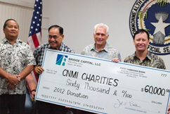 John K Baldwin CNMI charities